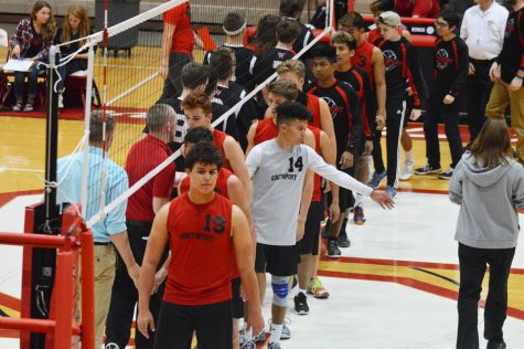 Free admission to create incentive for boys volleyball
