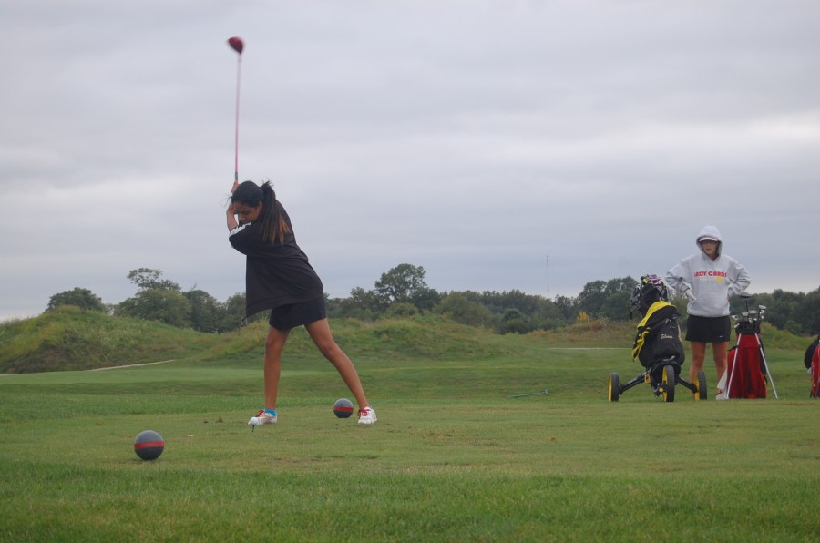 Girls golf vs. DC and Greenwood photo gallery