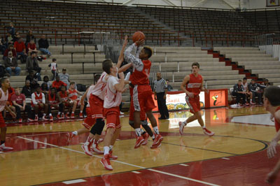 Boys Basketball Red/White Scrimmage Photo Gallery