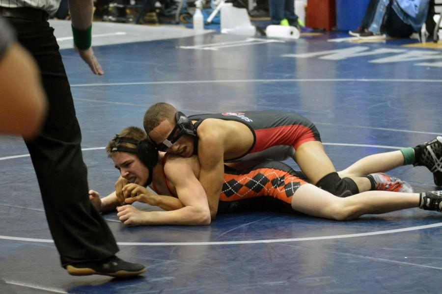 SHS wrestler moves on to state