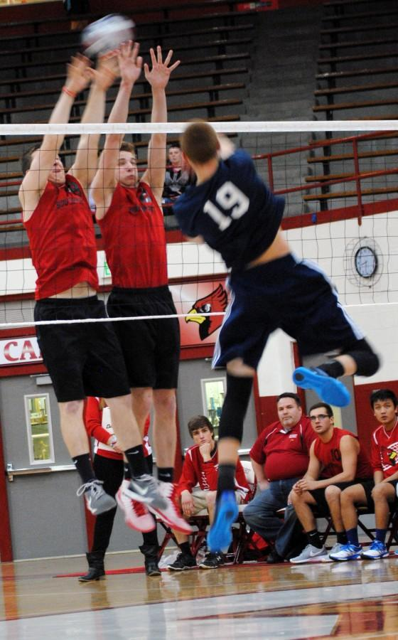 Boys volleyball sets Perry Meridian straight with 3-0 win