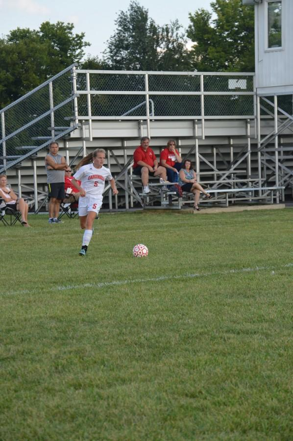 Lady Cards earn first win of the season