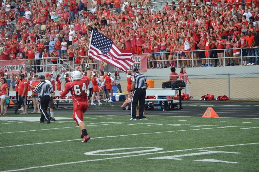 SHS vs Perry Meridian football first half photo gallery