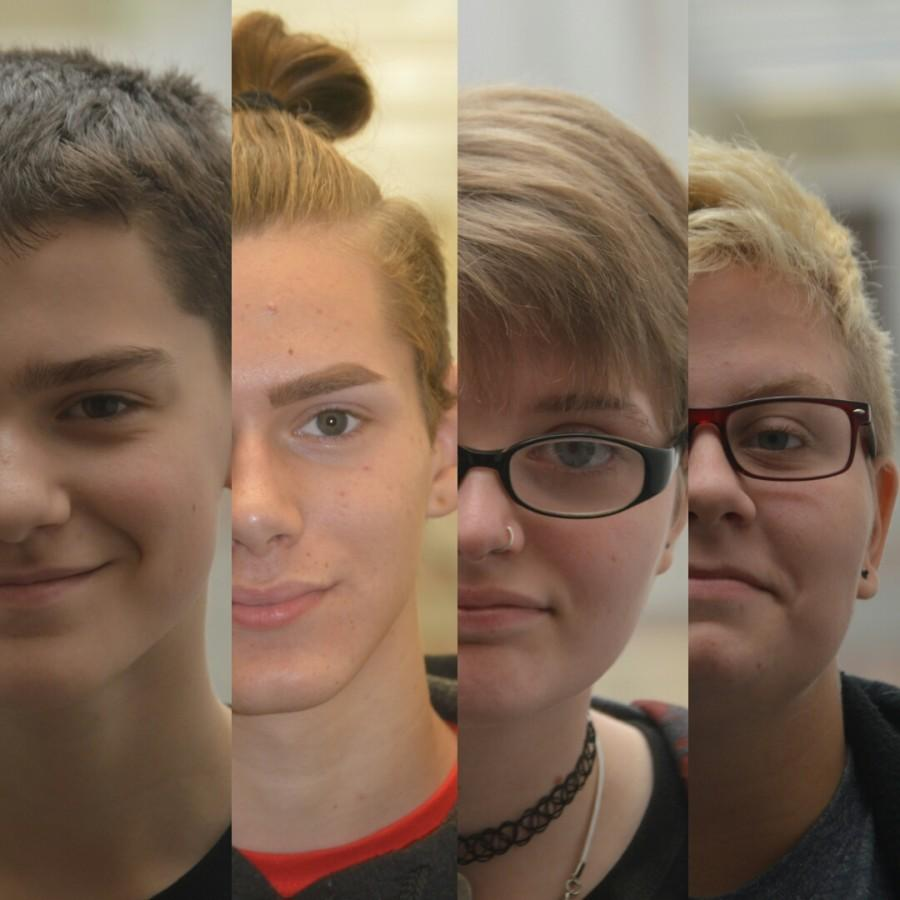 %28L+to+R%29+Freshman+Thomas+Jones%2C+senior+Nick+May%2C+sophomore+Ashley+Newland+and+junior+Emma+Cooper.+These+students+come+together+to+contribute+their+opinions+of+gay+acceptance+at+SHS.