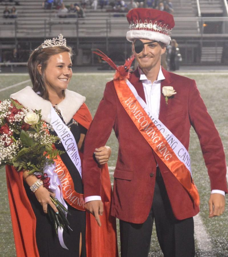 Being crowned puts more eyes on students