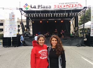 Students experience a little Latino culture at Fiesta Indianapolis
