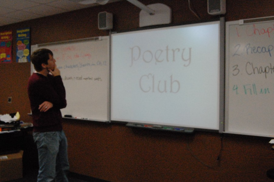 SHS jump starts the poetry club