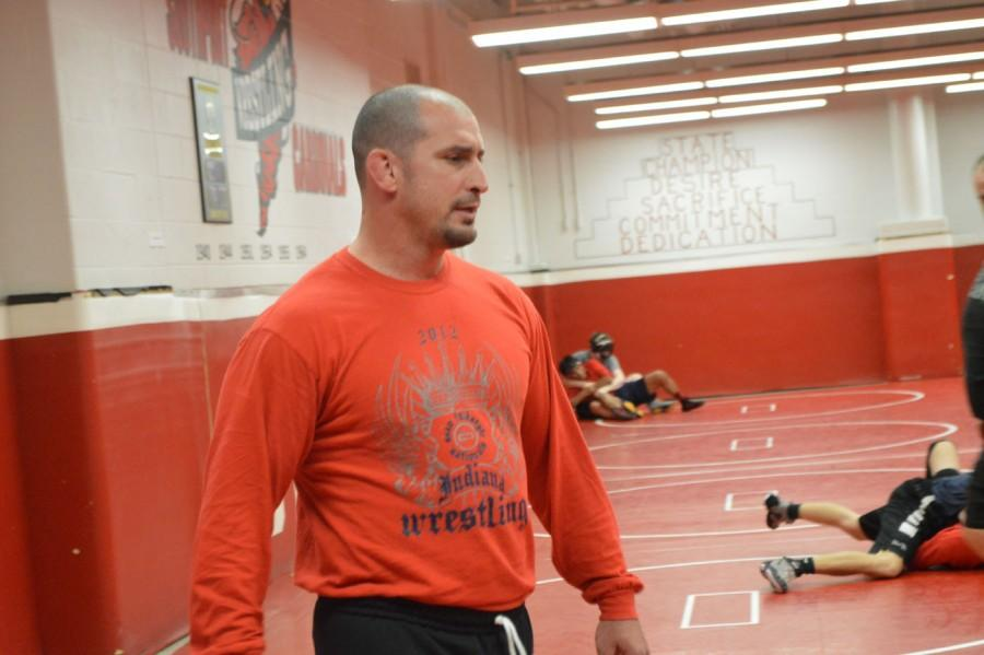 Wrestling team prepares for first home meet of the season