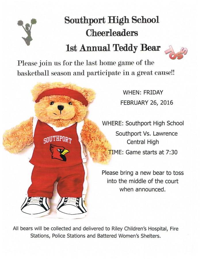 First annual Teddy Bear Toss