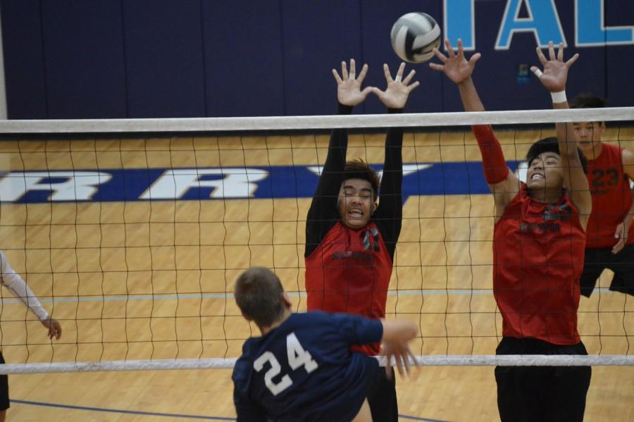 Boys volleyball takes down township rival