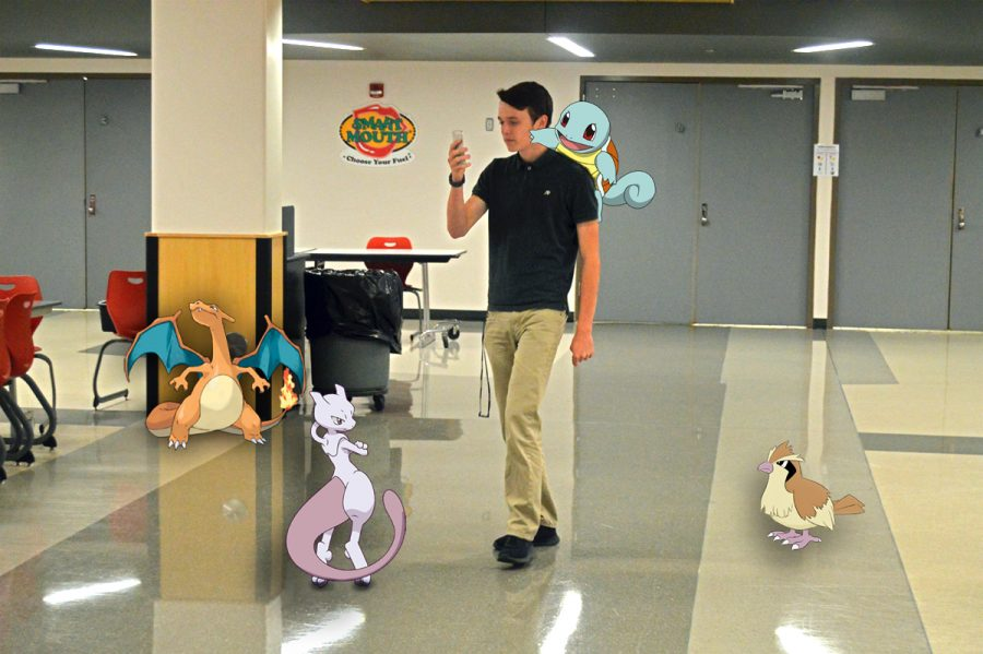 Senior Aaron Purvis has gone through extreme measures in order to catch 'em all