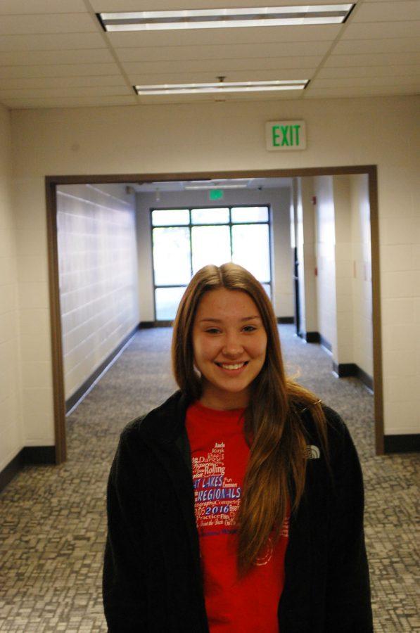 Sophomore, Hannah Garret