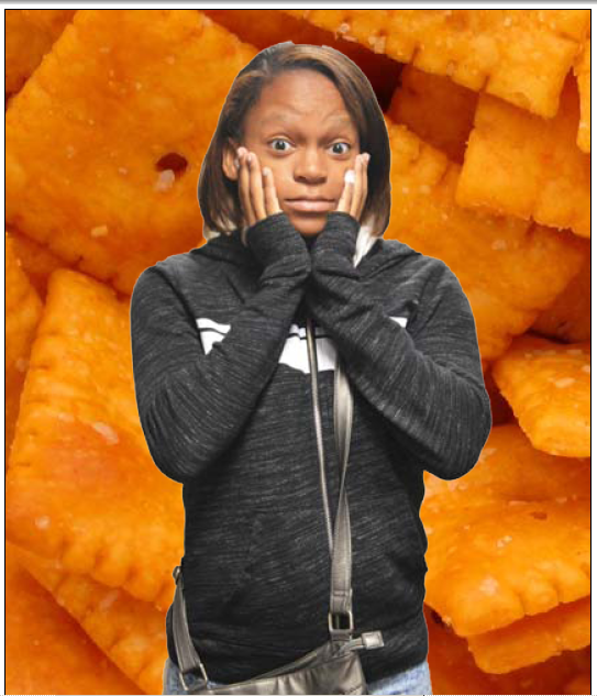 Junior Jaela Johnson has an irrational fear of Cheez-Its. She has hated Cheez-Its since she was little.