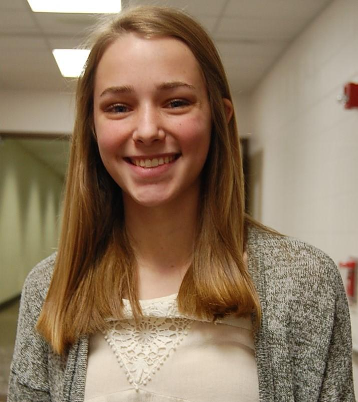Sophomore Lauren Stucky