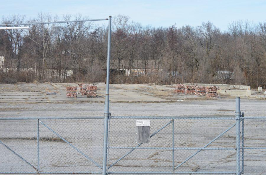 No one has used this abandoned lot on Southport Road for a few years. The city is hoping to revitalize the land in months to come.