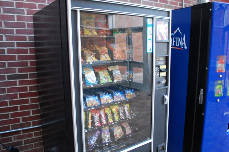 News Brief: Vending machines on lock down