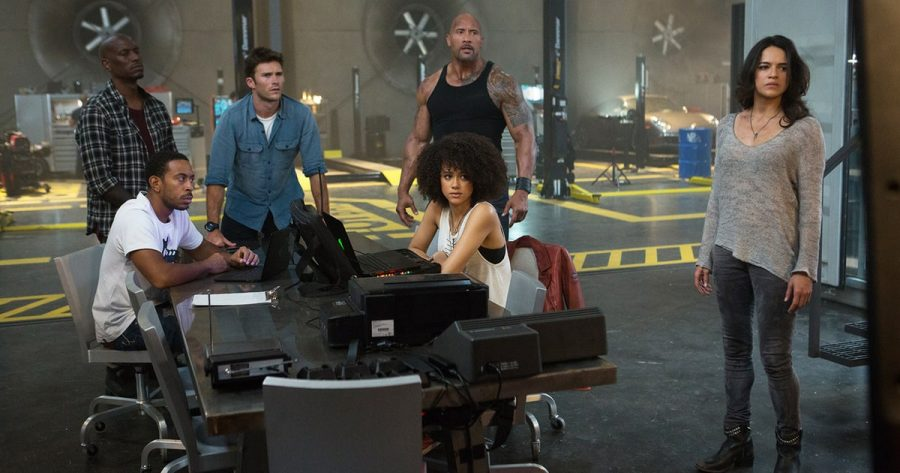 The Fate of the Furious, the 8th movie of the series, came out April 14. The cast is the same as before, with a new addition, Scott Eastwood.