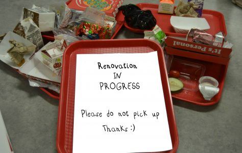 Students, please don't return your trays