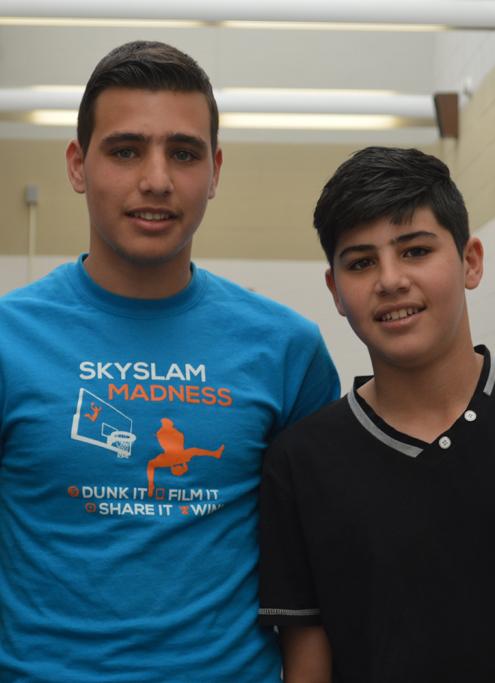 Mehear (Left) & YamienAl Laben