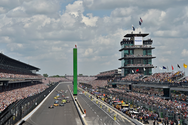 leading up to the Indy 500
