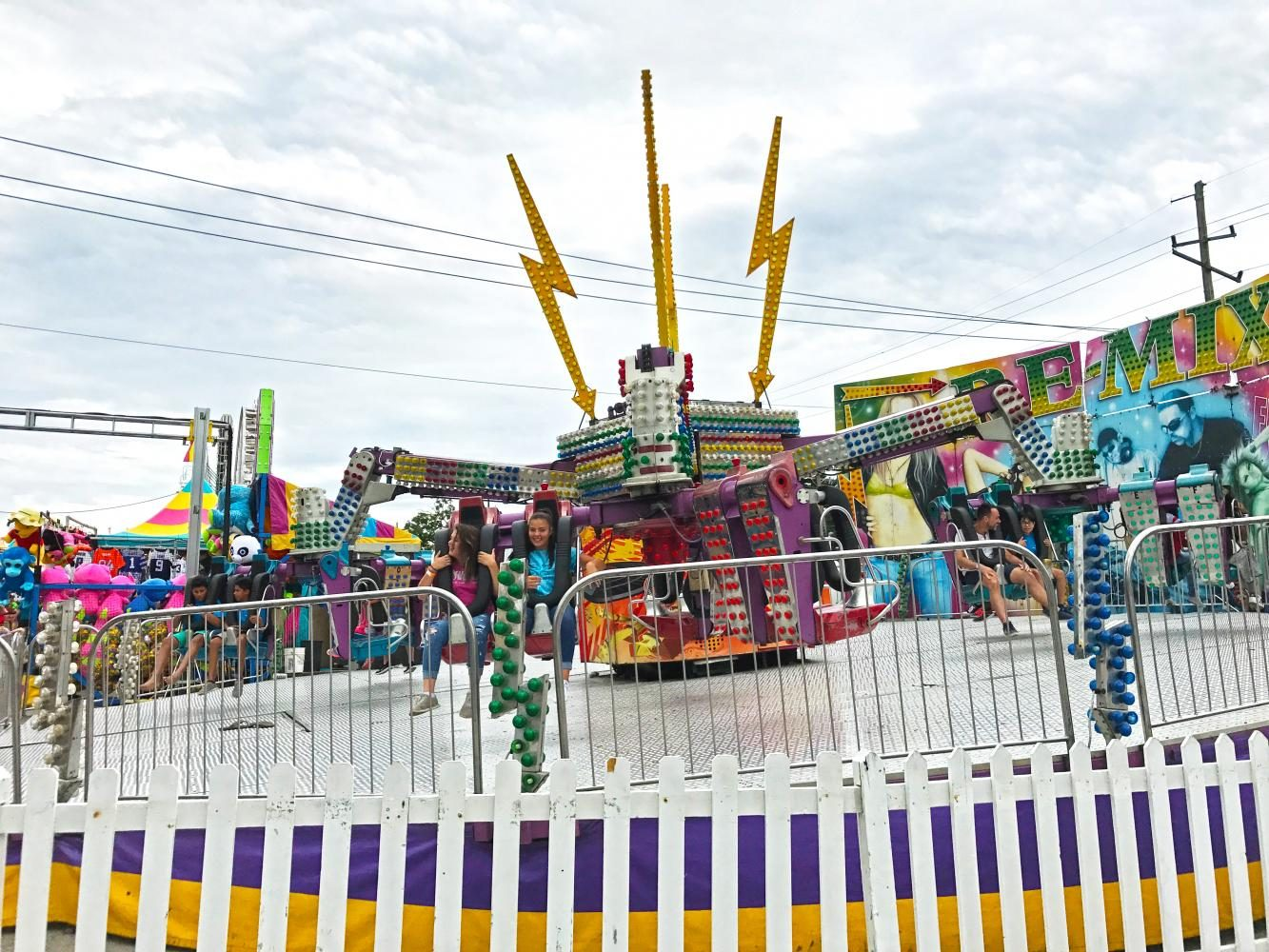 The remix, a ride at the Indiana State Fair. The fair will last from Aug. 4 to Aug. 20.