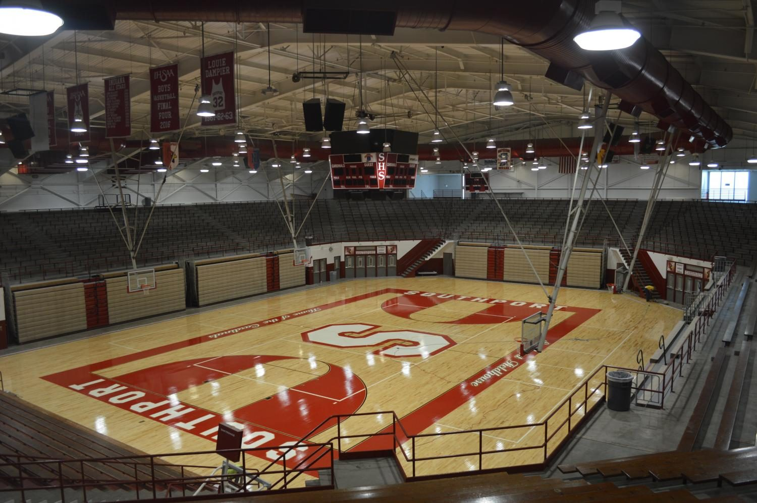 The SHS field house after renovations this summer.