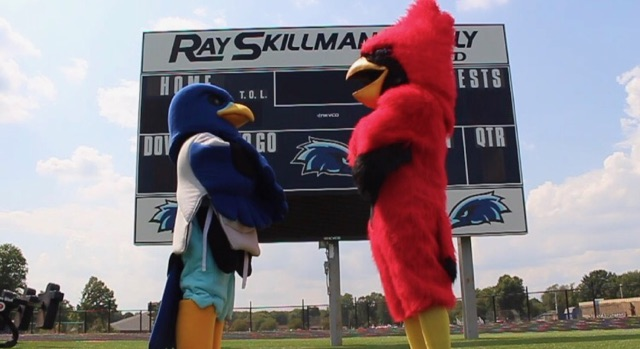 SHS Cardinal vs the Perry Meridian Falcon - Booster Club Video