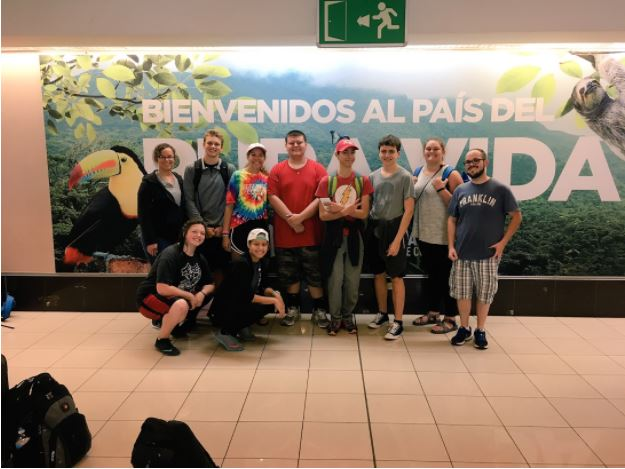 SHS students went to Costa Rica over the summer.