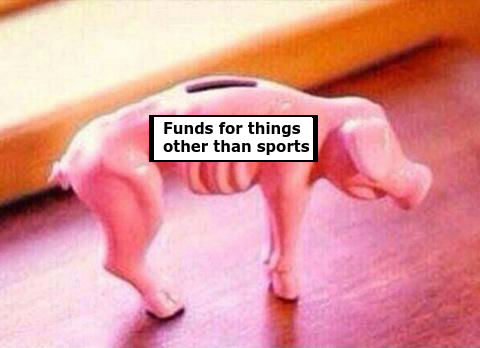 Raise all the funds