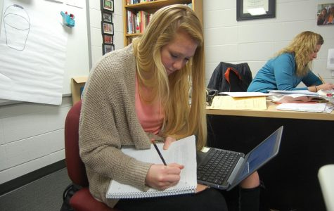 Junior doubles classes in one semester to graduate early