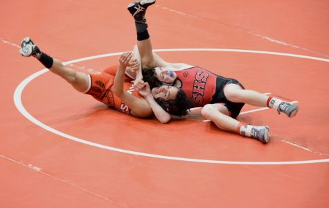 A hold on the wrestling season – Gallery From the Conference Wrestling Meet