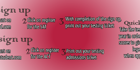 Staff and students illuminate importance of ACT and SAT
