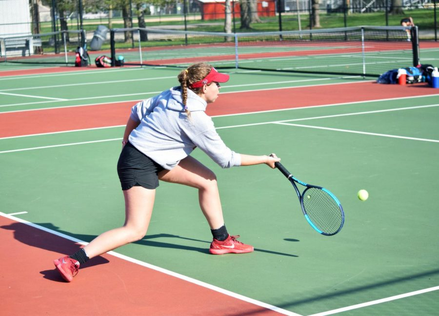 Girls tennis serves another win against Martinsville (Gallery)