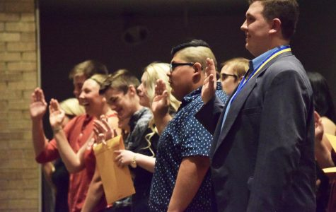 Thespian Inductions and Awards (Gallery)