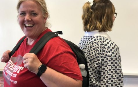 Staff experience what it's like to be a student