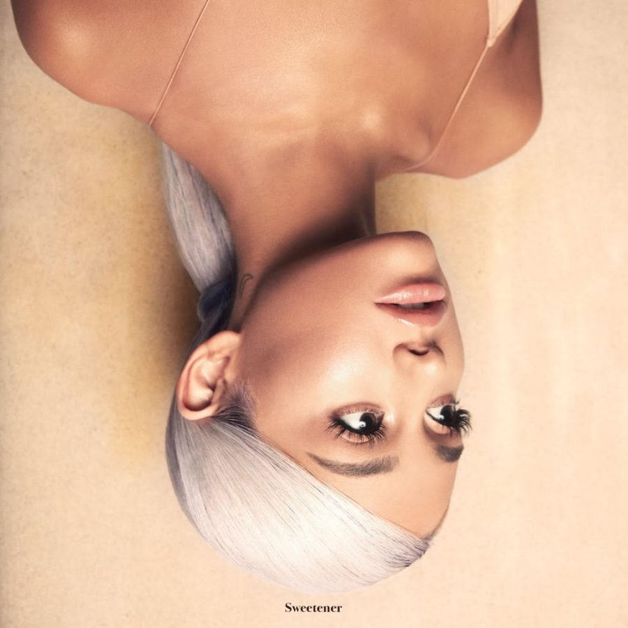 "Ariana Grande's ""Sweetener"" album cover. ""Sweetener"" was released on Friday, Aug. 17."
