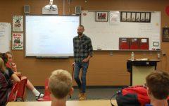 Philosopher Adam Hayden speaks at Philosophy Club