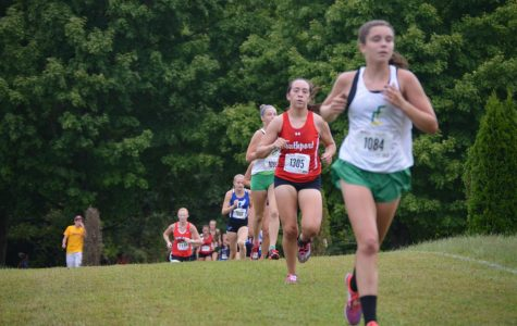 Cross country runner improves with great strides