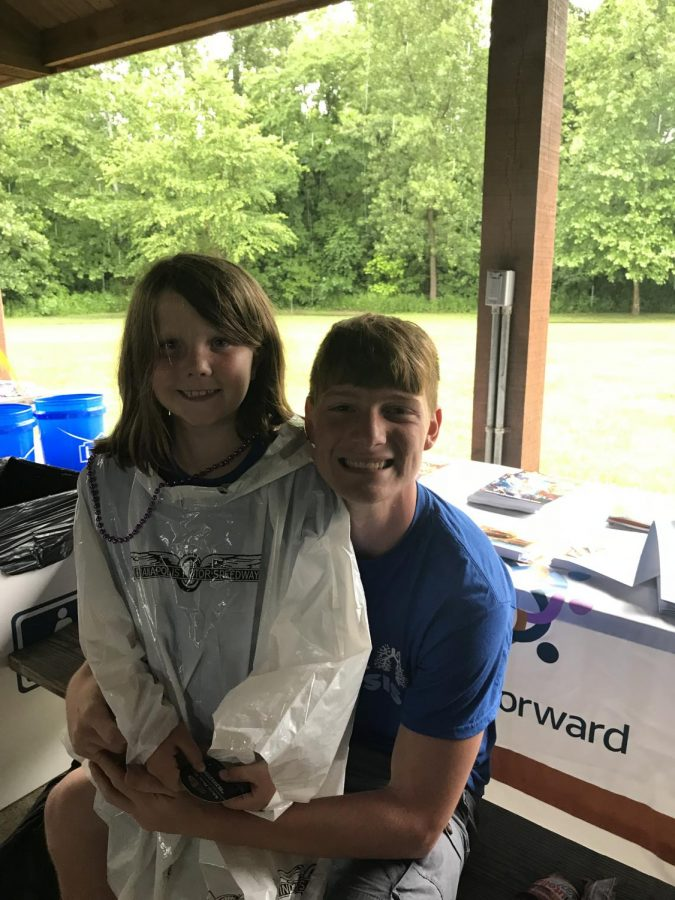 Avery Kendrick and Lucas Willoughby participate in a Cystic Fibrosis walk on June 10. This was one of many walks the two have been a part of.