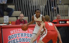 Boys basketball loses overtime game to Frankton