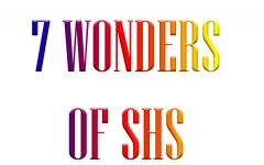 The 7 wonders of SHS