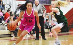 Lady Cards 'pink out' game against Greenwood
