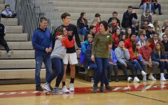 Boys basketball gets a win on senior night against Terre Haute South