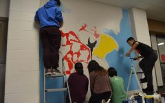 The process of the cultural Cardinal mural