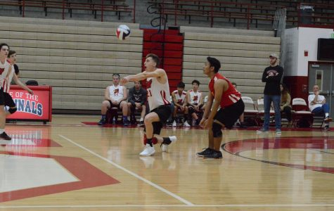SHS mens volleyball game vs. LHS (Gallery)