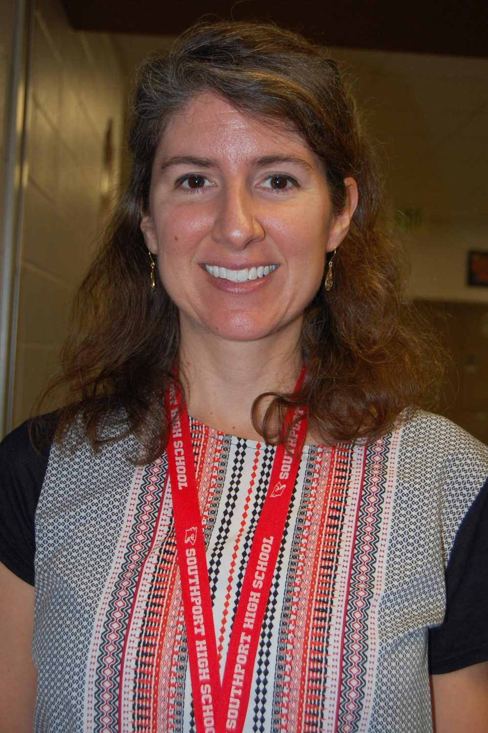 Christina Ferguson is the director of NHS and is in charge of the blood drive.