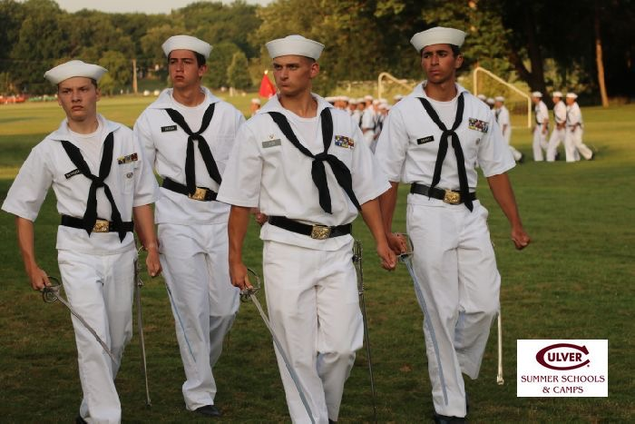 Tidd attends a military based camp each summer in Culver, Indiana. The camp has taught him organization and discipline.