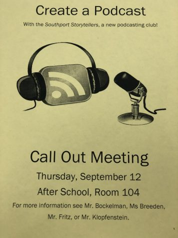 The call out meeting will take place on Thursday, Sep. 12 in Room 104. These flyers are placed around SHS.