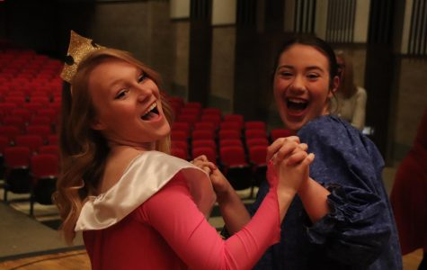 The theater department hosted the annual Tea with a Princess fundraiser on Dec. 8, 15 and 22.