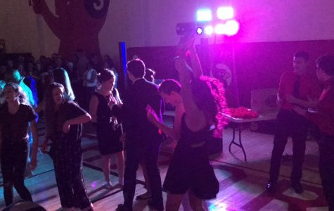 Students dance at last year's Snowcoming.